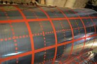 Пленка с разметкой под теплый пол 1х50 м (45 мкм)