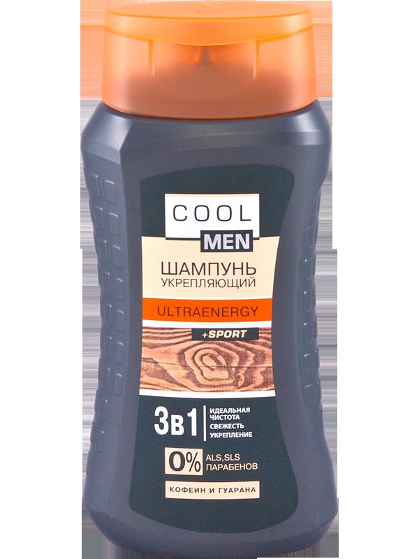 "Гель-шампунь Cool Men ""Ultraenergy""  укрепляющий 400 мл"