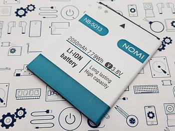 Батарея NB-5013 Nomi i5013 Сервисный оригинал с разборки (до 10% износа)