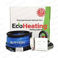 Нагревательный кабель EcoHeating 20 / 30 м / 3 - 3.7 м² / 600 Вт, фото 1