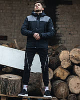 Куртка весенняя LC ALLEN (черно-серый)