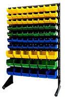 Стеллаж для метизов с ящиками под крепеж Арт 15-81 ЖСЗ