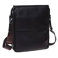 Мужская кожаная сумка через плечо Keizer K13508-brown