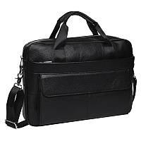 Мужская кожаная сумка Keizer K11688-black
