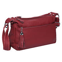 Женская кожаная сумка Keizer K1818-bordo