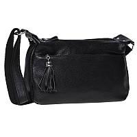 Женская кожаная сумка Keizer K1818-black