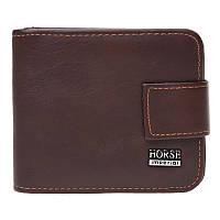 Мужской кожаный кошелек Horse Imperial K1029h-brown