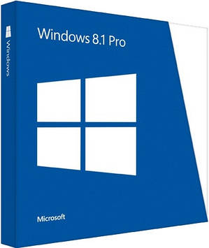Microsoft Windows 8.1 Pro 32-bit/64-bit Ukrainian DVD BOX (FQC-07359) поврежденная упаковка