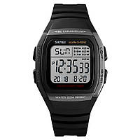 Skmei 1278 сріблясті чоловічі спортивні годинник, фото 1
