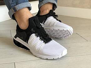 Модные мужские кроссовки Nike Shox Gravity,белые, фото 3
