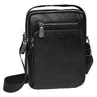 Мужская кожаная сумка Keizer K15608-black