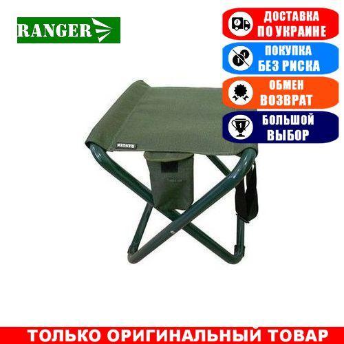 Туристический табурет складной с карманом Ranger Fish Lite, тканевый; 39х34х42см. Стул складной Ренжер Fish Lite.