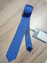 Краватка синій з принтом s.Oliver Premium