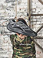 Кроссовки мужские Adidas Yeezy Boost 700 V3 BLACK.Стильные кроссовки. , фото 1