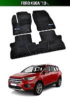 Коврики Premium Ford Kuga '13-., фото 1