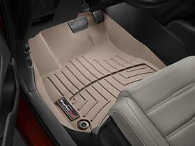 Килими гумові WeatherTech Honda CR-V 2018+ передні бежеві