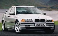 Ветровики боковых окон, дефлекторы на БМВ 3 серия / BMW 3 E46 1998-2005 год