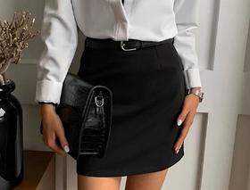"""Женская юбка мини """"Gloss"""", разные цвета"""