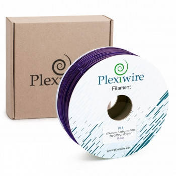 Пластик в котушці PLA 1,75 мм 1,185кг/400м Plexiwire Фіолетовий, фото 2