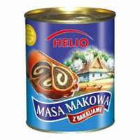 Маковая масса Helio с изюмом Польша 900г