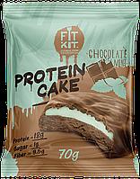 Протеиновое пирожное Fit Kit Шоколад-Мята (70 грамм)