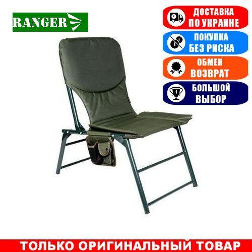Туристическое кресло складное с карманом Ranger Титан, тканевое; 88х80х50см. Кресло складное Ренжер Титан.