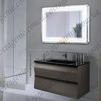 Зеркало с LED подсветкой в ванную, прихожую 5 Вт 900х700 | дзеркало на стіну з підсвіткою