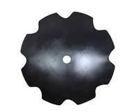 Диск бороны БДТ-7 «Ромашка» (борированная сталь) / БДЮ 01.405-Б