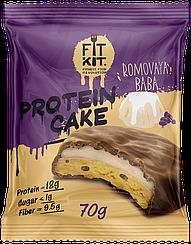 Протеиновое пирожное Fit Kit Ромовая Баба (70 грамм)