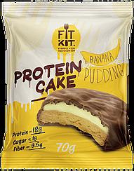 Протеиновое пирожное Fit Kit Банановый Пудинг (70 грамм)