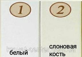 Дерев'яна полиця для книг з прихованим кріпленням (біла або слонова кістка), фото 3