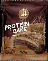 Протеиновое пирожное Fit Kit Двойной Шоколад (70 грамм)