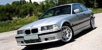 Ветровики боковых окон, дефлекторы на БМВ 3 серия купе / BMW seria 3,E36 3d 1990-1998 год