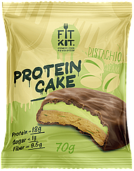 Протеиновое пирожное Fit Kit Фисташковый Крем (70 грамм)