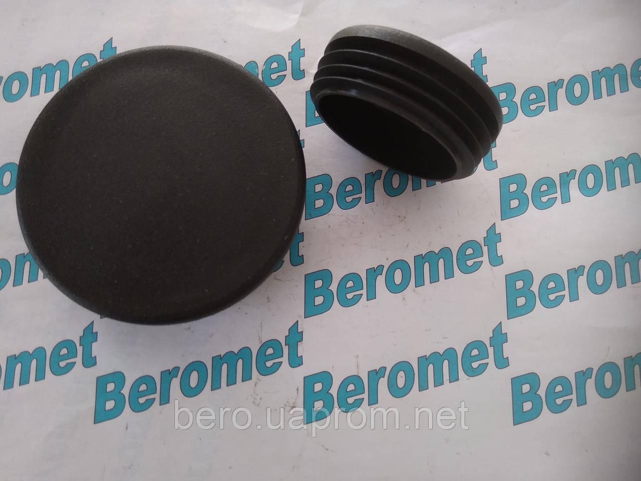 Заглушка  пластикова внутрішня  кругла 89 мм