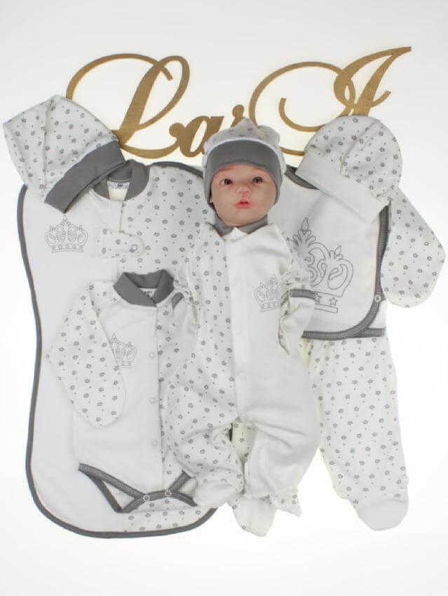 """Комплект одежды для новорожденных """"Версаль"""" 8 предметов"""