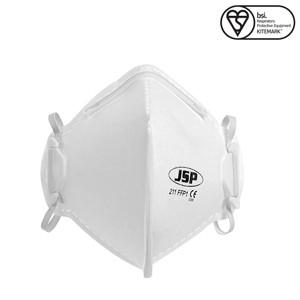 Полумаска одноразовая JSP складная плоская маска FFP1 (211) респиратор