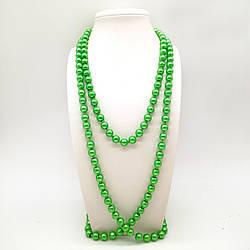 Бусы SONATA из майорки зеленого цвета, 63433       (1)