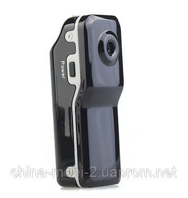 MD80 Індивідуальний міні відеореєстратор МД-80 екшн-камера Mini DV Camera DVR MD-80, МД80 Sil new, фото 2