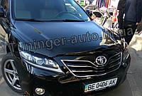 Дефлектор капоту (Мухобійка) Toyota Camry V40 2006-2011 (Sim), фото 1