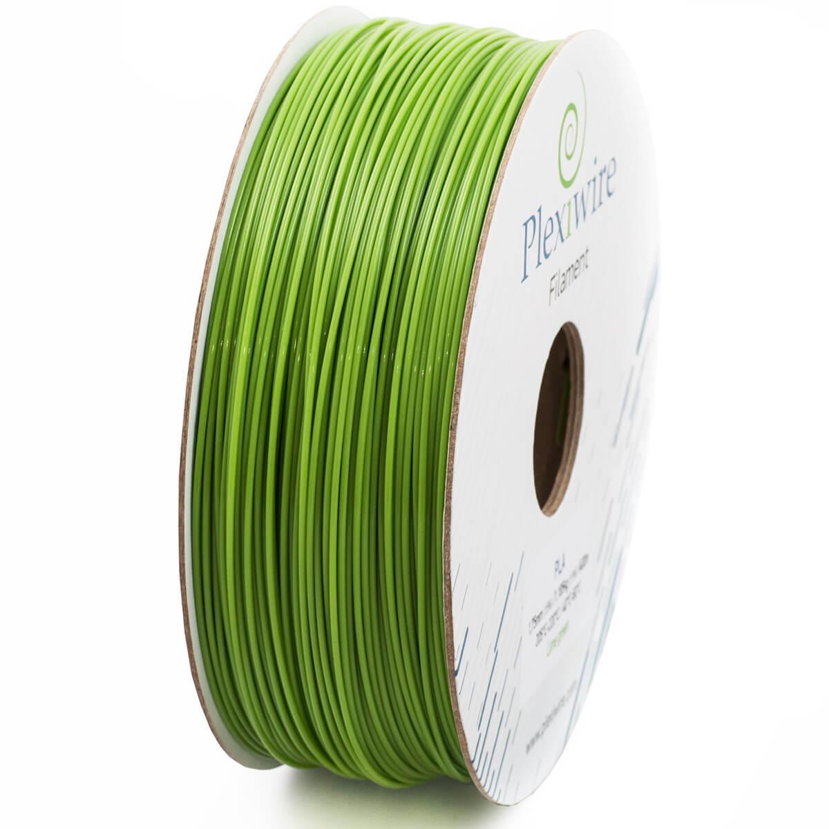 Пластик PLA 1,75 мм 1,185кг/400м Plexiwire Салатовий