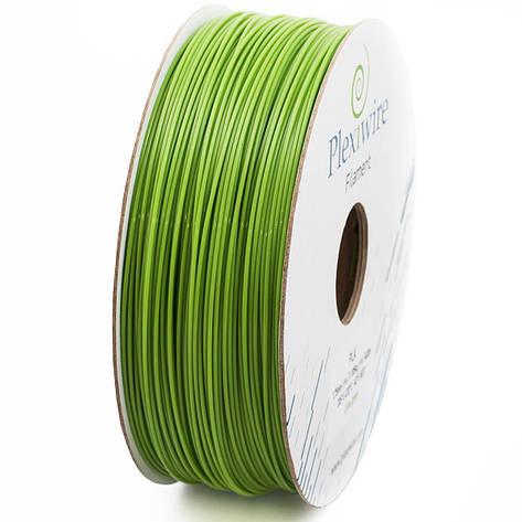Пластик PLA 1,75 мм 1,185кг/400м Plexiwire Салатовий, фото 2