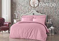 Комплект постельного белья турецкого производителя Altinbasak 100% Хлопок Сатин Цвет Розовый