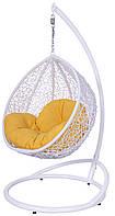 Подвесное детское кресло кокон капля шар плетеное из ротанга Украинские Конструкции Гарди Кидс / Gardi Kids