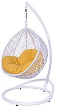 Підвісне дитяче крісло кокон крапля куля плетене з ротанга Українські Конструкції Гарді Кідс / Gardi Kids