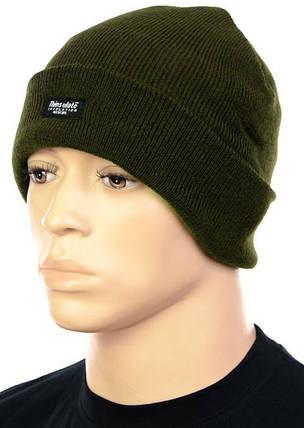 Тёплая акриловая шапка Thinsulate MFH Olive 10983B, фото 2