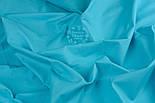Отрез ткани тёмно-бирюзового цвета (№39), размер 63*160, фото 3