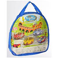 """Палатка для детей """"Автобус"""", размер 122-64-64 см, окна-сетки,1 вход на завязке, 1 вход-крыша, в сумке."""