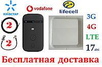 Оптимальный полный комплект для 3G/4G/LTE c ZTE MF90+ MiMo антенной 2×17 dbi под Киевстар, Vodafone, Lifecell