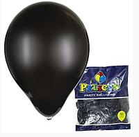 Шарики Pelican 10' (26 см), пастель черный, 50шт/уп